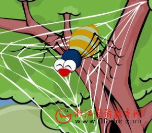 FLASH英文故事在线看:The Funnel Spider