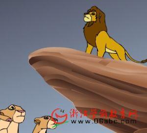 童话故事FLASH欣赏:狮子王 第四集