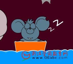 童话小故事FLASH欣赏:下水道里的小老鼠