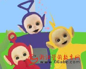 英语故事FLASH在线看:天线宝宝A