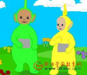 英语故事FLASH在线看:天线宝宝B