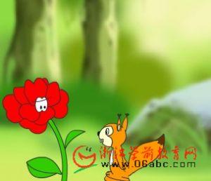 童话小故事FLASH欣赏:耳朵上的绿星星