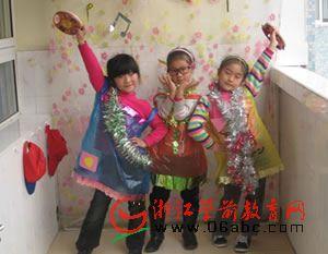 区域活动让孩子玩遍胜利幼儿园的每个角落