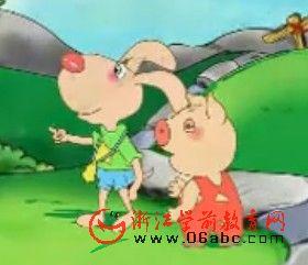 幼儿动画:三面肚皮鼓