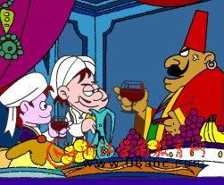 童话故事FLASH在线看:阿里巴巴 第七集
