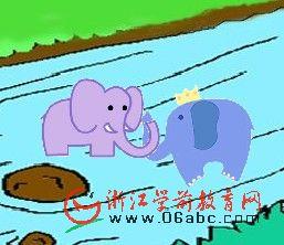 儿童歌曲FLASH欣赏:两只小象