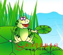 儿童故事FLASH:骄傲的青蛙