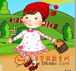 儿童歌曲Flash欣赏:小红帽