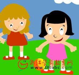 儿童歌曲FLASH欣赏:如果你是快乐