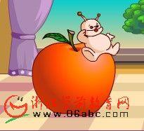 Flash儿童英文歌曲:红苹果