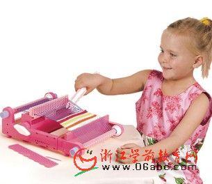 织布机/手工编织玩具 - 情景教室角色 - 幼儿园教具