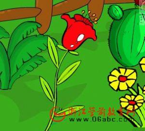 儿童歌曲FLASH欣赏:小红花