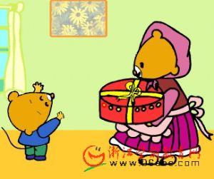故事课件:小老鼠的生日