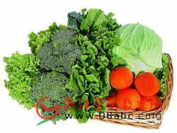 做个爱吃蔬菜的好宝宝