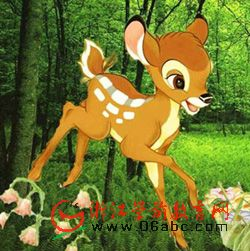 幼儿园中班语言课件下载:小鹿历险记(ppt)