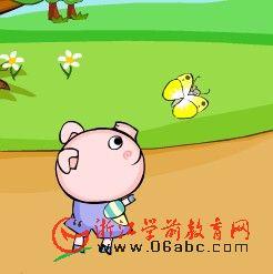 幼儿园英语歌曲FLASH:三只小猪