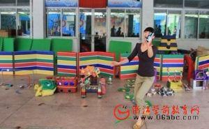 镇海幼儿园开展户外体育器械制作展示活动